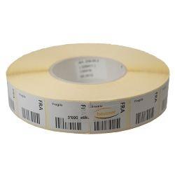 Barcode Fragile (FRA) roll