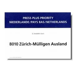 Press Plus Priority Niederlande