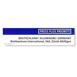 Press Plus Priority Deutschland