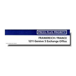 Press Plus Priority Frankreich