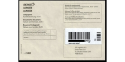 Swiss Post GLS envelope for customs paper
